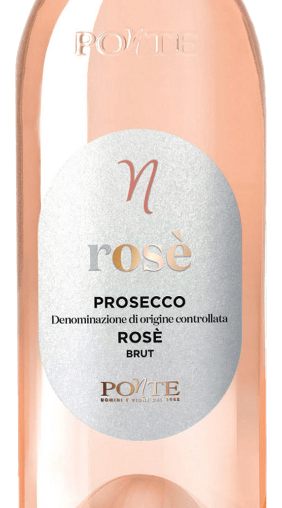 Ponte - Prosecco DOC Rosé Brut Millesimato 2020